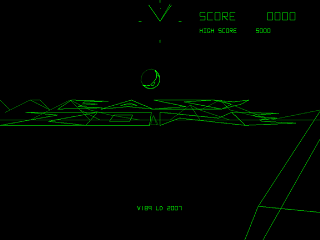 EASyZONE, a BattleZone type game
